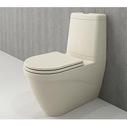 Banio Bocchi Taormina Pro staande wc onderpot met sproeier mat vanille