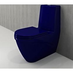 Banio Bocchi Taormina Pro staande wc onderpot met sproeier saphire blauw