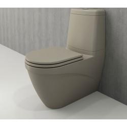 Banio Bocchi Taormina Pro staande wc onderpot met sproeier mat kashmir