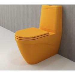Banio Bocchi Taormina Pro staande wc onderpot met sproeier mandarijn