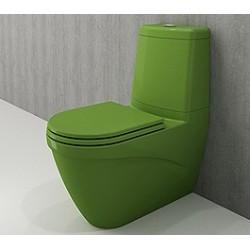 Banio Bocchi Taormina Pro staande wc onderpot met sproeier groen