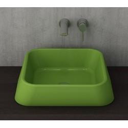 Banio Bocchi Elba wastafel 42x42cm groen