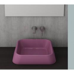 Banio Bocchi Elba wastafel 42x42cm violet