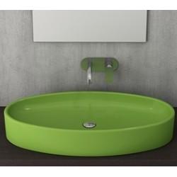 Banio Bocchi Elba wastafel 40x85cm groen