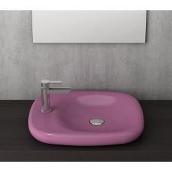 Banio Bocchi Fenice wastafel 45x54cm Z.kraangat violet