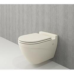 Banio Bocchi Taormina ophang wc mat vanille