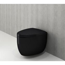 Banio Bocchi Etna ophang wc zwart