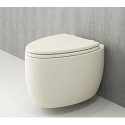 Banio Bocchi Etna ophang wc mat vanille