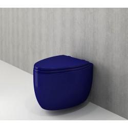 Banio Bocchi Etna ophang wc saphire blauw