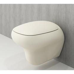 Banio Bocchi Fenice ophang wc mat vanille
