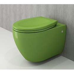Banio Bocchi Jet Flush ophang wc groen