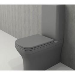 Banio Bocchi Scala Arch staande wc onderpot mat grijs
