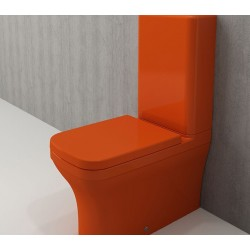 Banio Bocchi Scala Arch staande wc onderpot oranje
