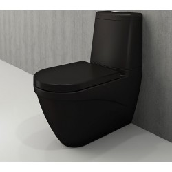 Banio Bocchi Taormina Pro staande wc onderpot mat zwart