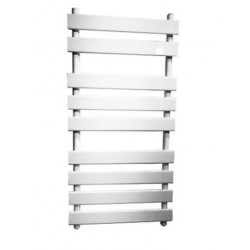 Creavit Aloni design handdoekradiator Flora L-R aansluiting 50x130cm 750W wit
