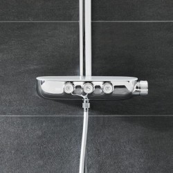 grohe rainshower system smartcontrol 360 duo colonne de douche 26250000. Black Bedroom Furniture Sets. Home Design Ideas
