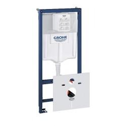 Grohe Rapid SL bâti-support pour cuvette WC suspendue avec réservoir GD 2 avec set d'isolation phonique