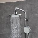 Grohe New Tempesta Cosmopolitan système 160 de douche, avec mitigeur thermostatique, montage mural, chromé