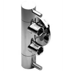 Creavit double robinet d'arrêt 1/2x3/8x3/8