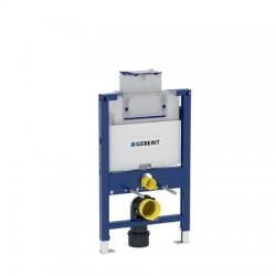 Elément Geberit Duofix pour cuvette de WC suspendue, 82 cm, avec réservoir de chasse à encastrer Omega 12 cm