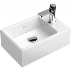 Villeroy & Boch Memento Lave-mains Blanc New Glory Platinum CeramicPlus