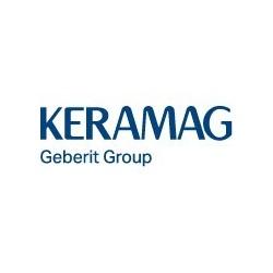 KERAMAG Réservoir de chasse Delta Fondo 6l /garn. int. chromée