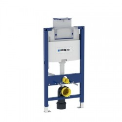 Geberit Duofix element voor hang-wc 98 cm met Omega inbouwspoelreservoir 12 cm
