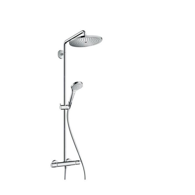 Hansgrohe showerpipe croma 280 1jet ecosmart colonne de douche - Hansgrohe colonne de douche ...