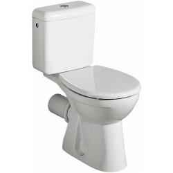 KERAMAG WC complet cuvette Renova à fond creux 6l, sortie hor