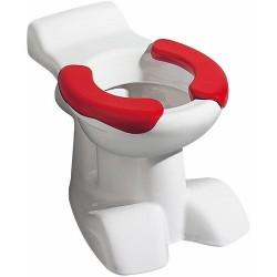 KERAMAG WC à fond creux Kind 6l, sortie susp./assises