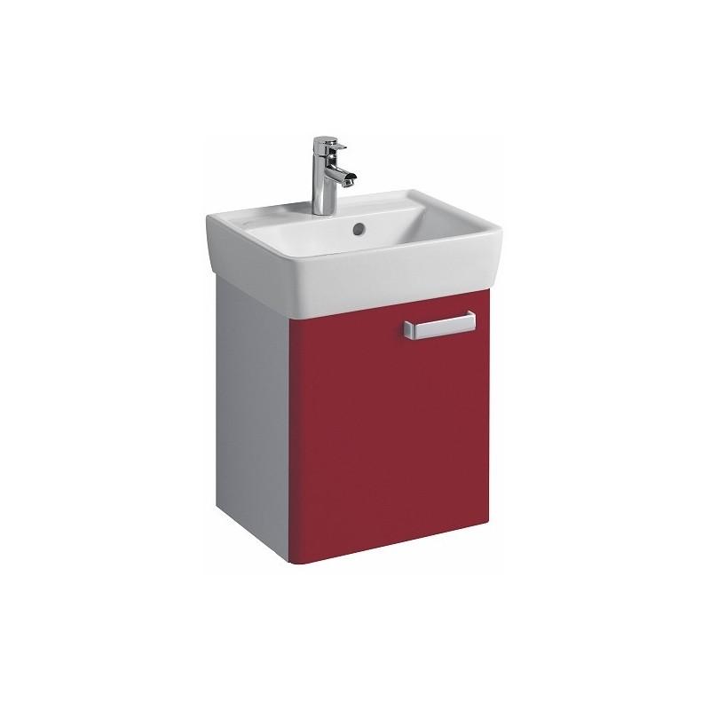 Keramag meuble sous lave mains plan 390x463x295mm rubis for Meuble sous lave mains