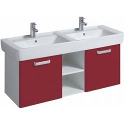 KERAMAG Meuble sous lavabo Plan 1200mm, avec 2portes, rubis