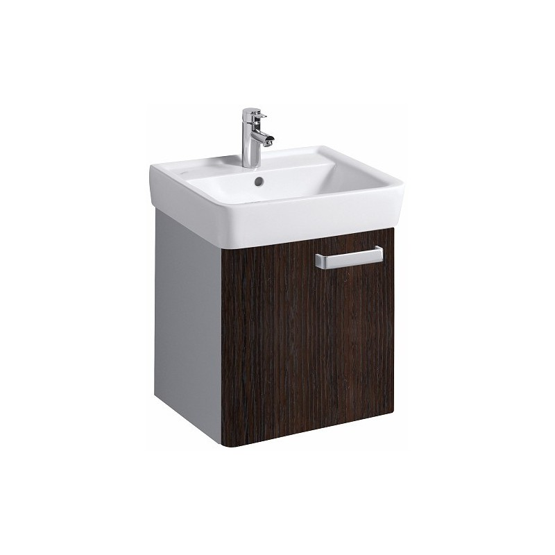 keramag meuble sous lavabo plan 485mm avec 1 porte weng. Black Bedroom Furniture Sets. Home Design Ideas