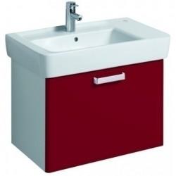 KERAMAG Meuble sous lavabo WTU 670mm, rubis, pour lavabo 122180