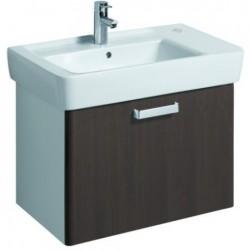 KERAMAG Meuble sous lavabo WTU 670mm, wengé, pour lavabo 122175