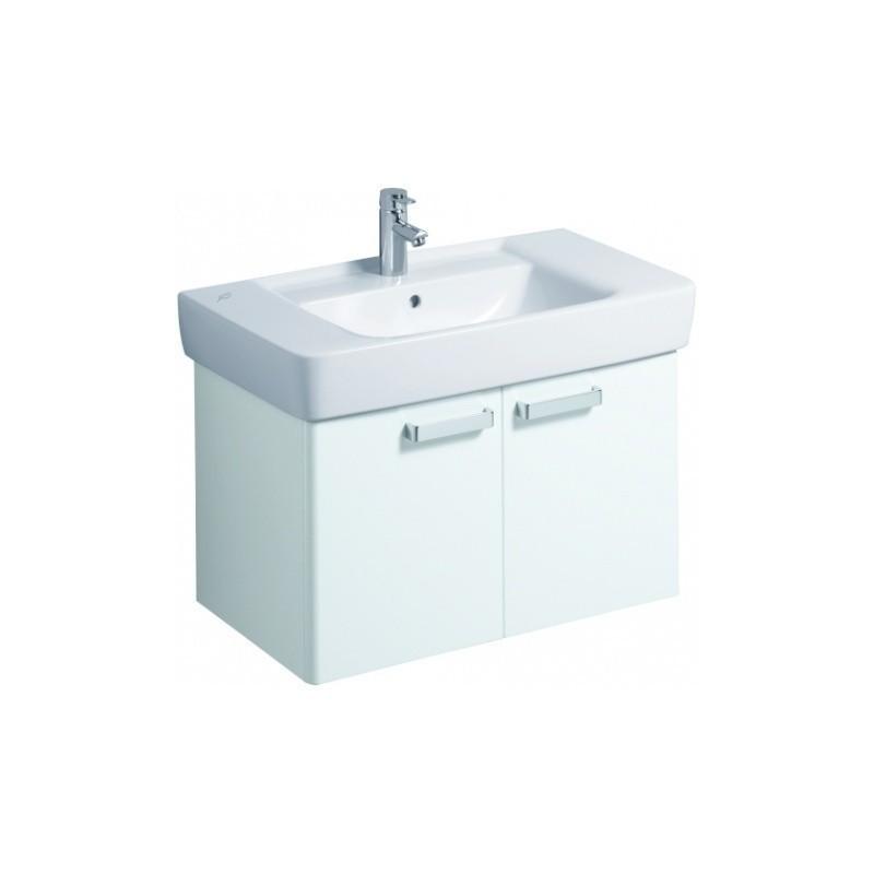 keramag meuble sous lavabo plan 780mm avec 2 portes blanc. Black Bedroom Furniture Sets. Home Design Ideas