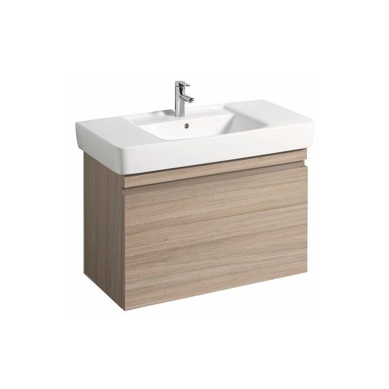 Keramag meuble sous lave mains ren plan 926x586mm orme for Lavabo sous plan salle de bain