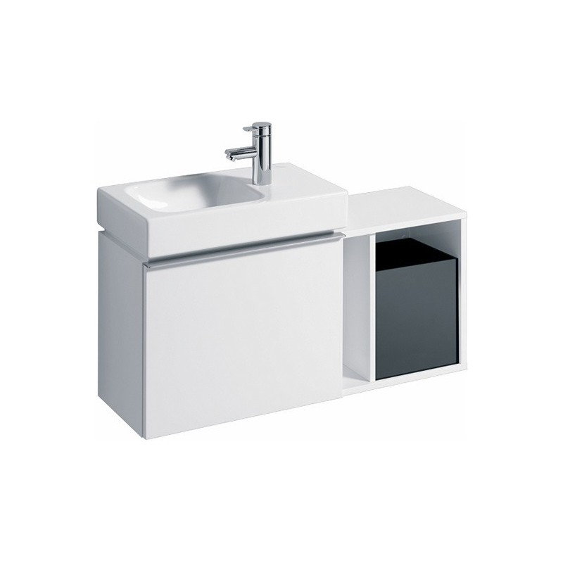 Keramag el ment lat ral icon xs 370x400x273 alpin for Element sous lavabo