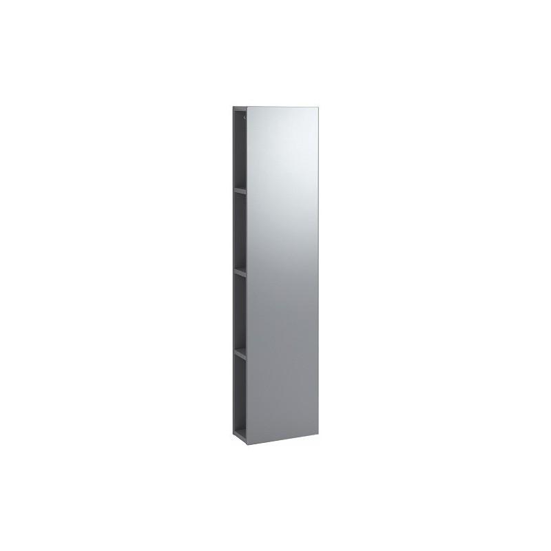 keramag icon xs rek met spiegel 280mm platina. Black Bedroom Furniture Sets. Home Design Ideas