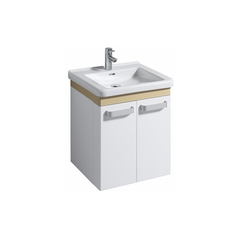 keramag meuble sous lavabo renova comfort 530mm blanc caramel. Black Bedroom Furniture Sets. Home Design Ideas