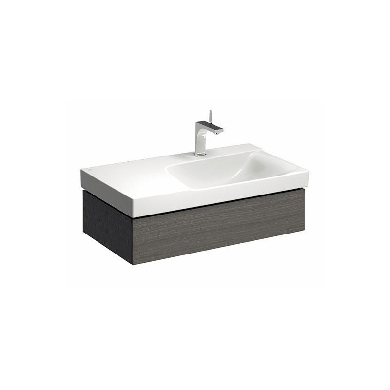 keramag meuble sous lavabo xeno 880 1 tiroir gris ext droite. Black Bedroom Furniture Sets. Home Design Ideas