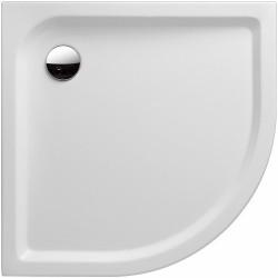 KERAMAG Receveur de douche d'angle arrondi iCon 900x900mm