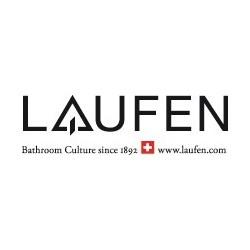 LAUFEN Curveprime inbouw 3-gats mélangeur lavabo messing