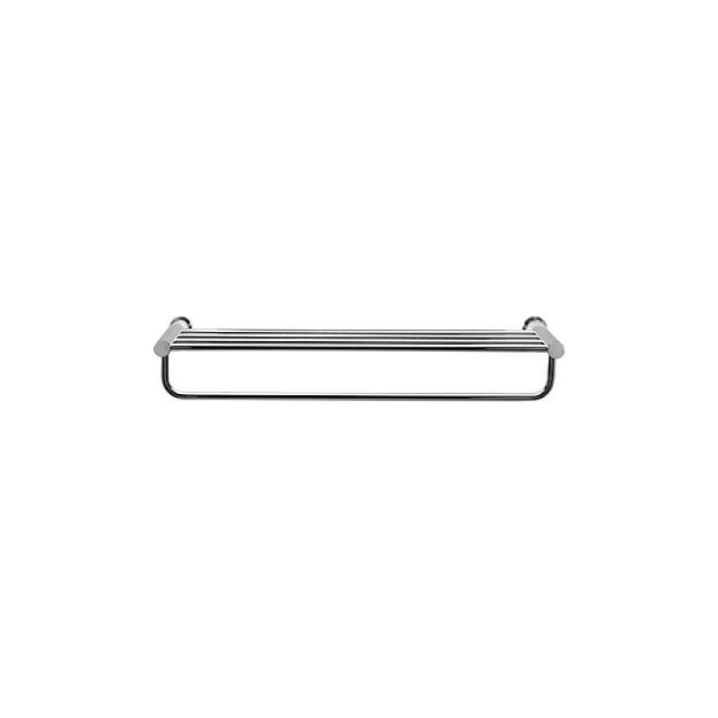 Porte-serviettes D-Code, chrome DURAVIT