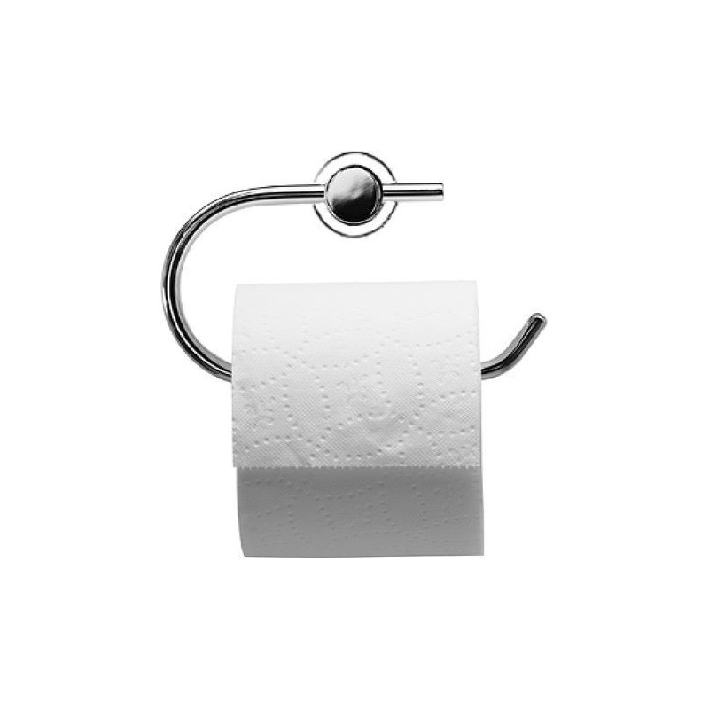 Porte-papier D-Code, chrome DURAVIT