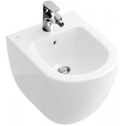 villeroy boch subway bidet compact star white ceramicplus 740600r2. Black Bedroom Furniture Sets. Home Design Ideas