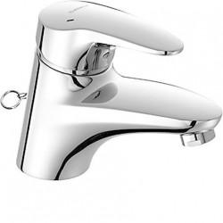 Hansamix-cl lavabo ch-eau à éc.libr.chainette
