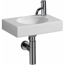 KERAMAG Lave-mains Preciosa II KeraTect 400x280mm avec trou à droite