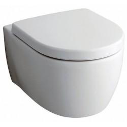 Keramag Icon WC à fond creux suspendu Sans bride 6l - Blanc