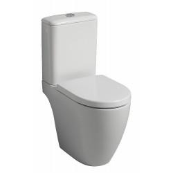 KERAMAG WC comb. à fond creux rimfree iCon, sortie multi